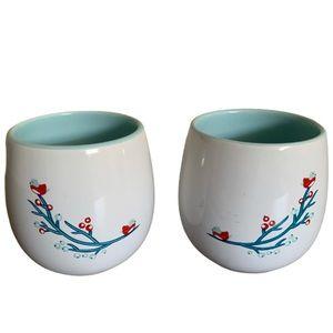 David's Tea Mini Cups (Set of 2)
